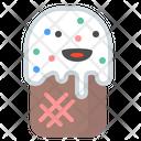 Icecream Cookie Desert Icon