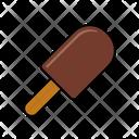 Icecream Popsicle Chocolate Icon