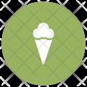 Icecream Cone Dessert Icon