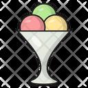 Icecream Sweets Bowl Icon