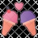 Icecream Love Dessert Icon
