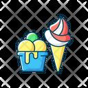 Color Icon Dessert Icon