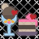 Icecream Cake Cafe Icon