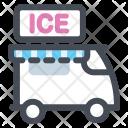 Icecream Van Truck Icon