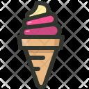 Icecream Cone Delicious Icon