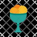 Icecream Goblet Cream Icon
