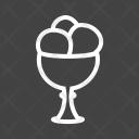 Icecream Goblet Sweet Icon