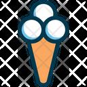 Icecream Cone Cone Icecream Icon