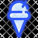 Spring Icecream Cone Ice Cream Cone Icon