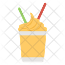 Iced Coffee Frappe Coffee Cold Beverage Icon