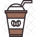 Iced Coffee Cold Coffee Latte Icon
