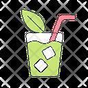 Iced Tea Cocktail Iced Icon