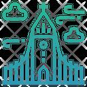 Iceland Hallgrimskirkja Church Reykjavik Icon