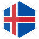 Iceland Country Flag Icon