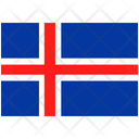 Flag Country Iceland Icon