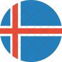 Iceland Flag World Icon