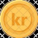 Iceland Krona Coin Iceland Krona Krona Icon