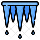 Icicle Ice Cold Icon