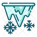Icicles Spike Of Ice Cold Weather Icon