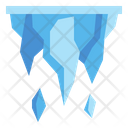 Icicles Winter Cold Icon