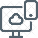 Cloud Device Responsive Icon