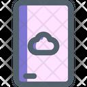 Cloud Database Storage Icon