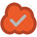 Icloud Checkmark Cloud Icon