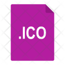 Ico File Format Icon