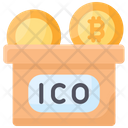 Coin Ico Initial Icon
