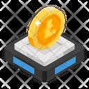 Ico Crypto Fundraising Crowdfunding Icon