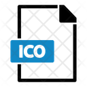 Ico File Type File Format Icon