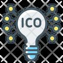 Cryptocurrency Ico Idea Icon
