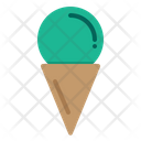 Icream Ice Cream Cone Sweet Icon