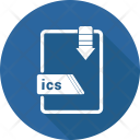 Ics File Format Icon