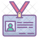 Id Badge Card Icon