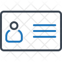 Identity Card Id Icon
