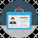 Id Identification Report Icon