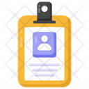 Identity Card Id Badge Identification Icon