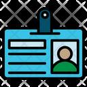 Id Card Badge Id Icon