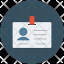 Volunteer Card Document Icon