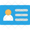 Id Card Identity Card Identification Card Icon