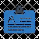 Id Card Badge Icon