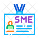 Sme Worker Badge Icon