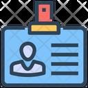 Seo Id Card Identification Icon