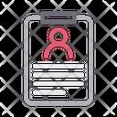Id Badge Card Icon