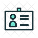 Business Card Id Icon