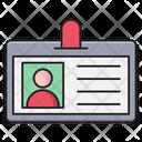 Id Identity Card Icon