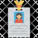 Id Card Identification Icon