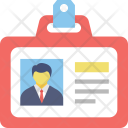 Id Card Identity Icon