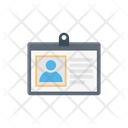 Card Identity Pass Icon